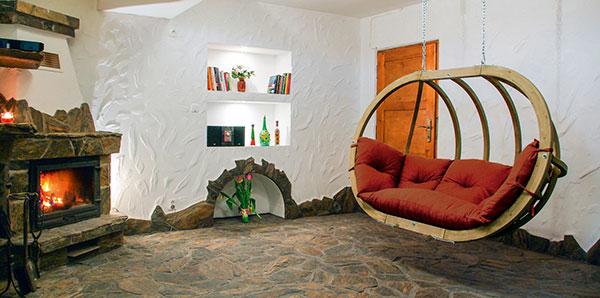 Hängesofa Wohnzimmer mit nett stil für ihr haus design ideen