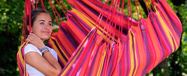 Amazonas Relax Hängesessel im Garten