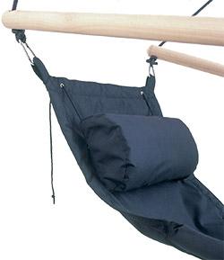 Rückenkissen am Amazonas Swinger