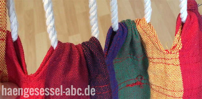 Schlaufen und Seile des Kronenburg XL