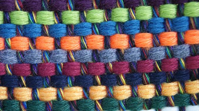Mulitcolor Gewebe von Chico