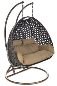 Home Deluxe Twin Rattan Hängesessel